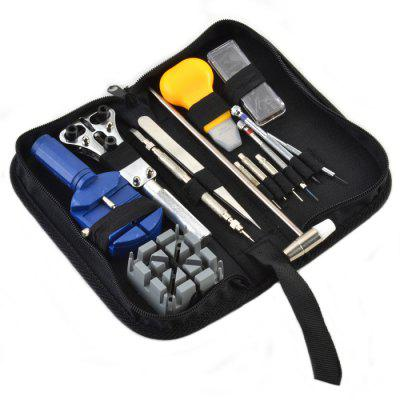 14 in 1 Portable Wrist Watch Repairing Tools