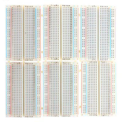 6PCS Printed Circuit Breadboard