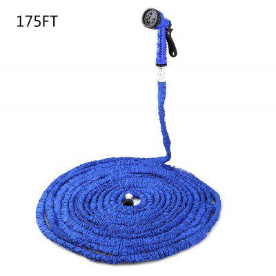 Buy 175FT Expandable Garden Water Hose with 7 Modes Spray Gun, BLUE, Home & Garden, Garden Supplies, Watering & Irrigation for $41.76 in GearBest store