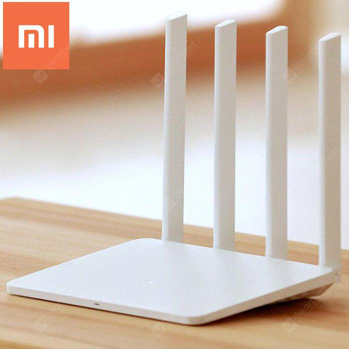 Original English Version Xiaomi Mi WiFi Router 3 - WHITE 128MB  (entrepôt EU-6)