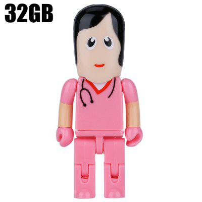 ZP32 Doctor Shape 32GB USB 2.0 Flash Drive