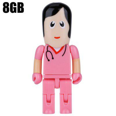 ZP32 Doctor Shape 8GB USB 2.0 Flash Drive