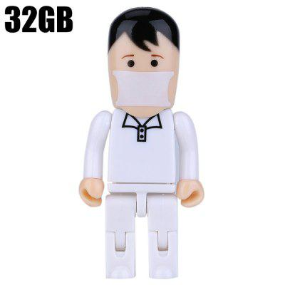 ZP29 Murse Shape 32GB USB 2.0 Flash Drive