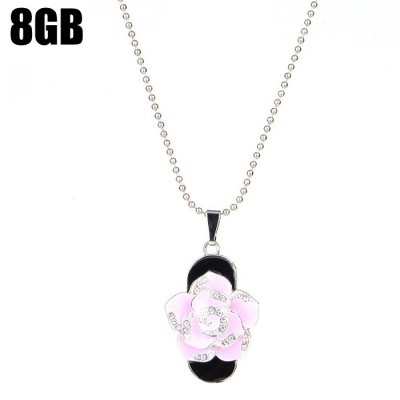 ZP19 Flower Shape 8GB USB 2.0 Flash Memory