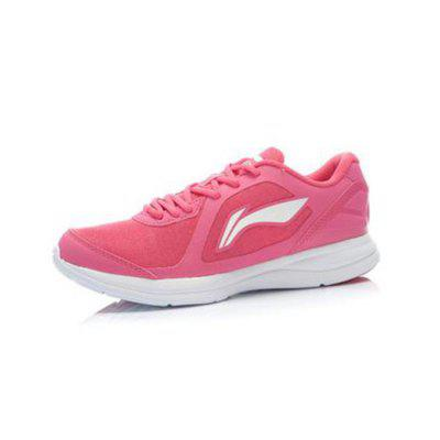 LI-NING Women Lightweight Breathable Running Shoes