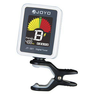 JOYO JT - 301 Clip-on Electric Tuner with Color Screen Fitting for Guitar Bass Ukulele color screen guitar tuner digital tuner with clip on design for guitar ft 12c free shipping