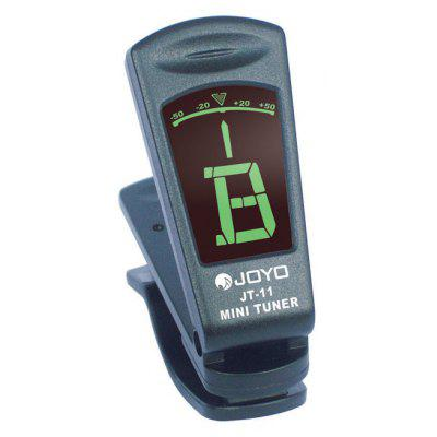 JOYO JT - 11 Clip-on Electric Chromatic Tuner with Backlit Screen for Guitar Bass Ukulele
