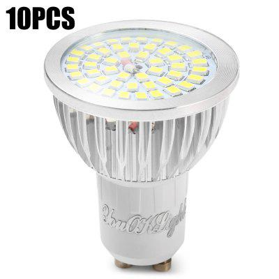 10PCS YouOKLight SMD 2835 8W GU10 600Lm LED Spotlight