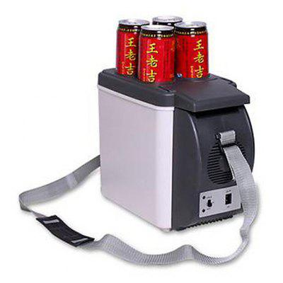 HUANJIE 12V 6L Capacity Portable Car Refrigerator Cooler Warmer