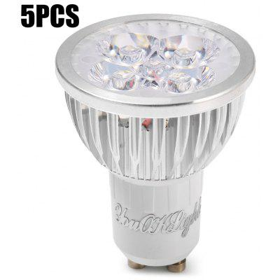 5 szt. YouokLight 4W 350LM GU10 LED Spot Light