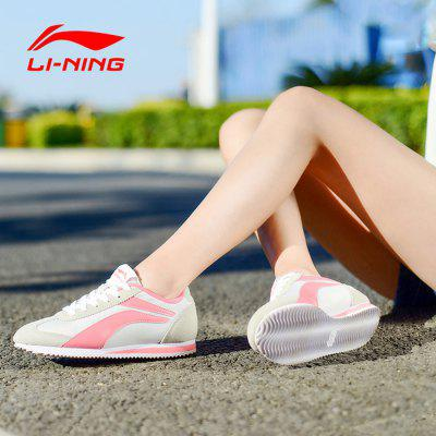 LI-NING Women Lightweight Casual Running ShoesShoes<br>LI-NING Women Lightweight Casual Running Shoes<br><br>Brand: LI-NING<br>Closure Type: Lace-Up<br>Color: Dark Red,Pink,Red<br>Gender: Women<br>Highlights: Sweat Absorbing, Soft, Breathable<br>Package Contents: 1 x A Pair of LI-NING Men Casual Running Shoes<br>Package size: 30.00 x 21.00 x 12.00 cm / 11.81 x 8.27 x 4.72 inches<br>Package weight: 0.940 kg<br>Product weight: 0.700 kg<br>Season: Winter, Summer, Spring, Autumn<br>Size: 7,7.5,8,9<br>Upper Height: Low