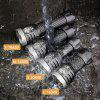 CooYoo Particle L Cree XP - G2 1000Lm Mini 16340 LED Flashlight - BLACK