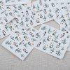 50pcs Watermark Tip Design Nail Sticker Manicure Decor Tools - COLORMIX