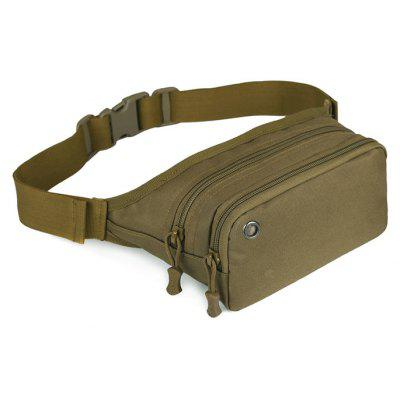 2.3L Outdoor Leisure Waist Bag Waistpack with Earphone Hole