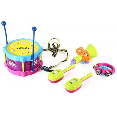 Kids Drum Rattles Educational Game Toy Set