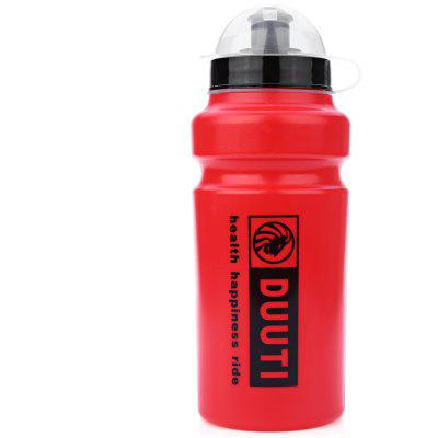 500ml DUUTI Portable Plastic Outdoor Mountain Bike Cycling Sports Water Bottle