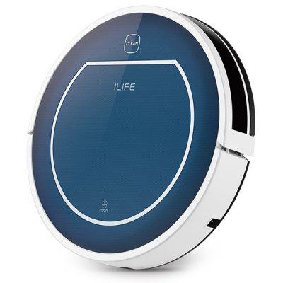 ILIFE V7 Super Mute Sweeping Robot Home Vacuum Cleaner Dust Cleaning with 2600mAh Li - battery