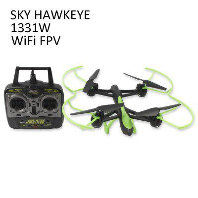 SKY HAWKEYE 1331W WiFi FPV 720P Camera 2.4G 4CH 6 Axis Gyro Quadcopter Headless Mode with Light