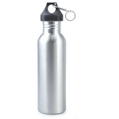 SAHOO 750ml Sport Bottle Water Jug with Carabiner for Outdoor Camping Cycling Hiking