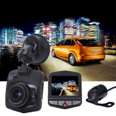 GT300+ Dual Lens 1080P FHD 170 Degree Wide Angle Car DVR