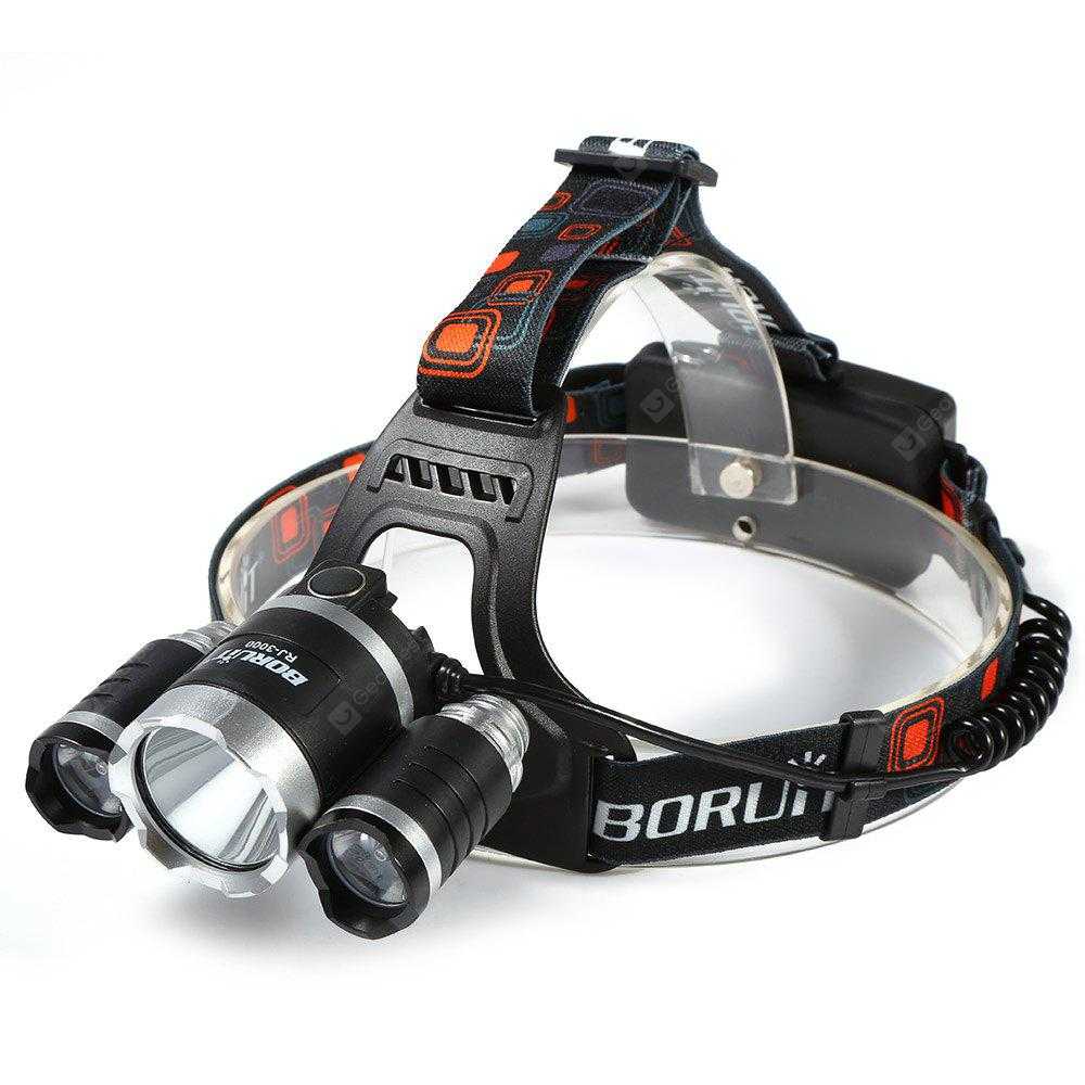 Boruit LT - 069 5000Lm T6 Bicycle LED Headlamp Pack