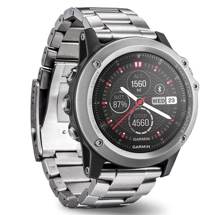Garmin FENIX 3 100m Smartwatch Digital Smart Watch - SILVER