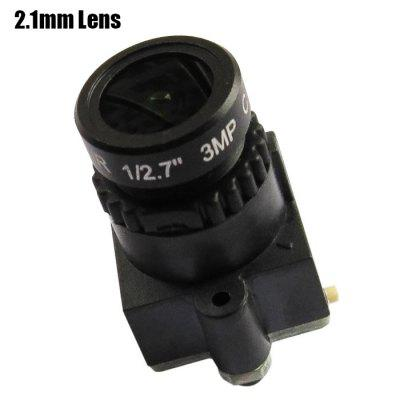 Spare CMOS 800TVL HD 2.1mm Lens Camera for Fixed-wing Plane QAV250 210 RC Multicopter FPV Project