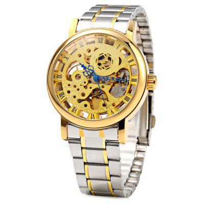 Boxio 9556 Hollow-out Dial Male Automatic Mechanical Watch