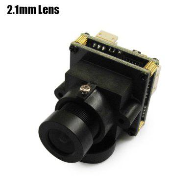 Buy BLACK Spare EFFIO 811 700TVL HD 2.1mm Lens Camera for RC Multicopter FPV Project NTSC Format for $20.46 in GearBest store