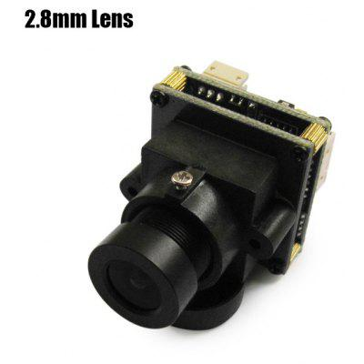 Buy BLACK Spare EFFIO 811 700TVL HD 2.8mm Lens Camera for RC Multicopter FPV Project NTSC Format for $19.82 in GearBest store