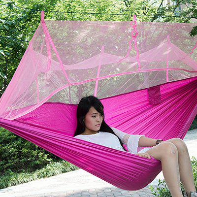 Single  Person Parachute Fabric Mosquito Net Hammock