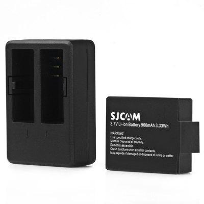 Original SJCAM Battery Charger Set
