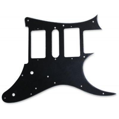 80839 - BK 2-layer Pickguard PVC + Celluloid Accessory for Electric Guitar User