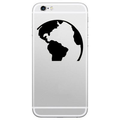 Hat-Prince Etiqueta de Pele Decorativa Removível para iPhone SE / 5S / 6S / 6S Plus