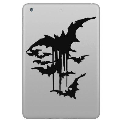 Hat-Prince Removable Decorative Skin Sticker for iPad Mini with Bat Design