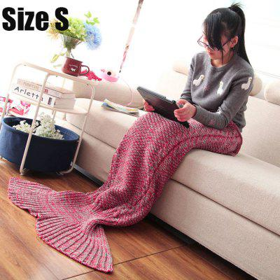 Gearbest Mixture Crocheted / Knited Mermaid Tail Blanket