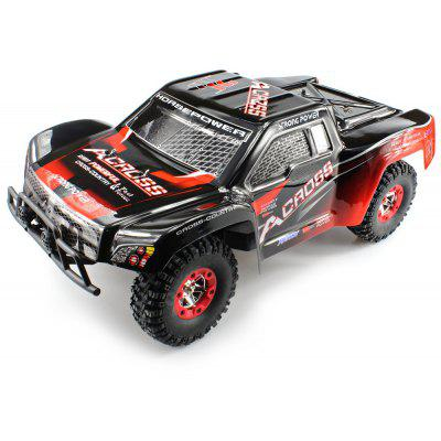 WLtoys No. 12423 1 : 12 Full Scale 2.4GHz Climbing Buggy with Bright LED Light -  RED WITH BLACK