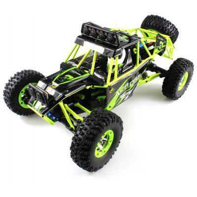 WLtoys No. 12428 1 / 12 2.4GHz 4WD RC Off-road Car - BLACK AND GREEN