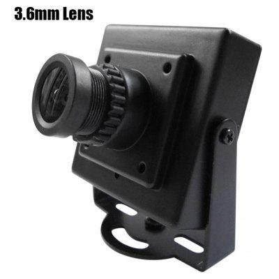 Buy BLACK Spare K700 700TVL HD 3.6mm Lens Camera for Fixed-wing Plane QAV250 RC Multicopter FPV Project NTSC Format for $20.56 in GearBest store