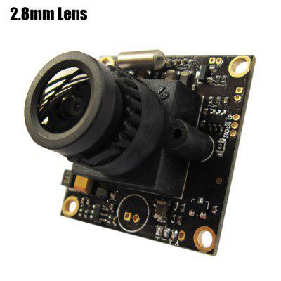 Buy BLACK Spare L700 700TVL HD 2.8mm Lens Camera for Fixed-wing Plane QAV250 RC Multicopter FPV Project NTSC Format for $22.38 in GearBest store
