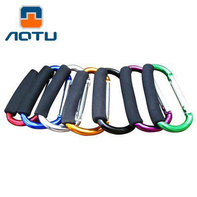 AOTU AT7607 Quick Release D - shaped Carabiner Buckle for Outdoor Camping HikingCarabiner<br>AOTU AT7607 Quick Release D - shaped Carabiner Buckle for Outdoor Camping Hiking<br><br>Best Use: Backpacking,Climbing,Hiking,Mountaineering<br>Brand: AOTU<br>Color: Black,Blue,Green,Purple,Red,Silver,Yellow<br>Material: Aluminum Alloy<br>Package Contents: 1 x Carabiner<br>Package Dimension: 15.00 x 9.00 x 3.00 cm / 5.91 x 3.54 x 1.18 inches<br>Package weight: 0.150 kg<br>Product weight: 0.100 kg<br>With Lock: Yes