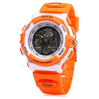 SMAEL 0704 Waterproof Digital Girls Watch Candy Colors