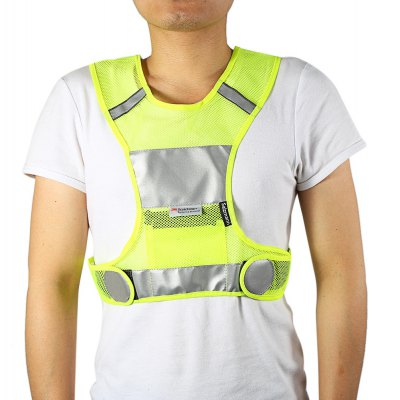 Salzmann Unisex Night Running Reflective Vest
