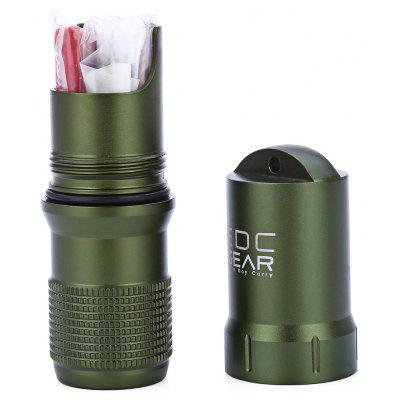 EDC Gear Waterproof Aluminum Capsule Seal Bottle