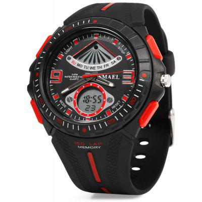 SMAEL 1315 Sports Digital Men Watch Calendar 3ATM Water Resistant