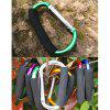 AOTU AT7607 Quick Release D - shaped Carabiner Buckle for Outdoor Camping Hiking - GREEN