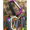 AOTU AT7607 Quick Release D - shaped Carabiner Buckle for Outdoor Camping Hiking - PURPLE