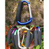 AOTU AT7607 Quick Release D - shaped Carabiner Buckle for Outdoor Camping Hiking - BLUE