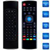 M3 2.4G Wireless Remote Control Keyboard Air Mouse - BLACK