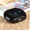 EK201 Car Bluetooth CSR 4.0 Handsfree Car MP3 Music Receiver - BLACK